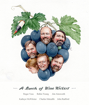 A Bunch Of Wine Writers