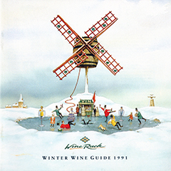 Wine Rack Wine Guide - Winter 1991