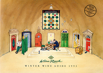 Wine Rack Wine Guide - Winter 1993