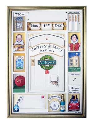 Jeffrey and Mary Archer Christmas Box